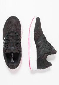 adidas Performance - GALAXY 4 - Juoksukenkä/neutraalit - core black/footwear white/shock pink - 1