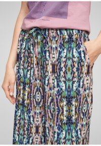 QS by s.Oliver - REGULAR - Trousers - pink aop - 3