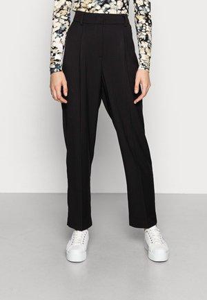JANARA SUITING PANTS - Trousers - black