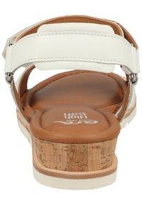 ara - Sandaletter med kilklack - weiss - 2