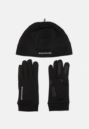 GUBENG RUNNING SET UNISEX - Beanie - black