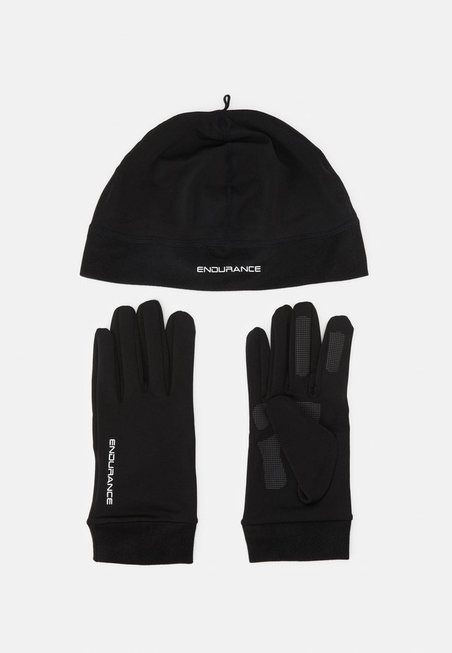 GUBENG RUNNING SET UNISEX - Muts - black