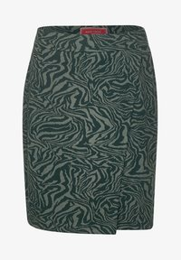 Street One - ZEBRA ROCK  - Wrap skirt - grün - 3