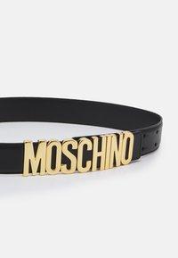 MOSCHINO - UNISEX - Belt - black - 2