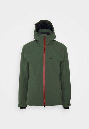 TRUULISKI - Ski jacket - thyme green