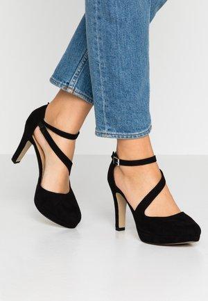 Zapatos altos - black