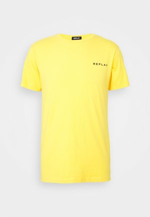 TEE - Basic T-shirt - yellow