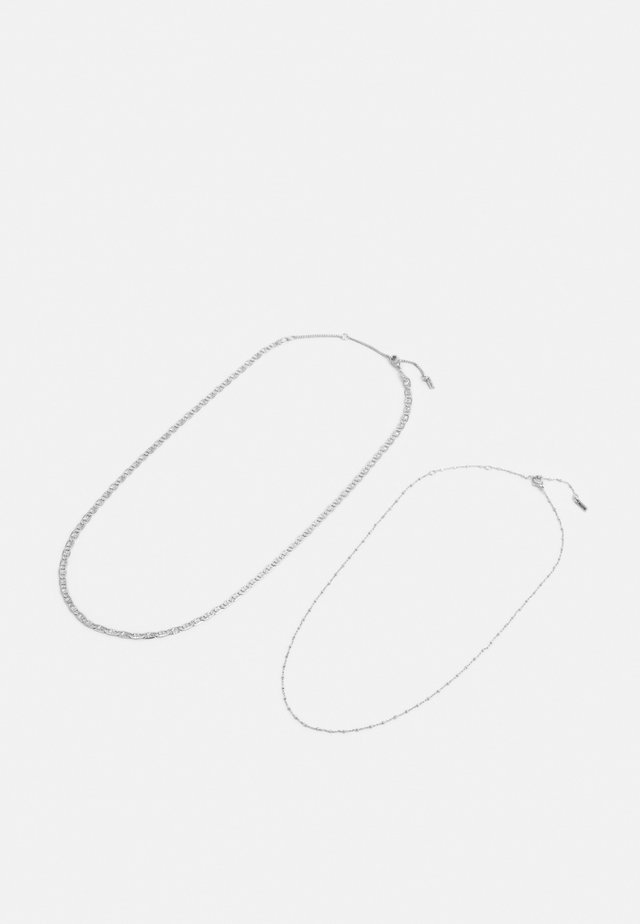NECKLACE INTUITION 2 PACK - Collar - silver-coloured