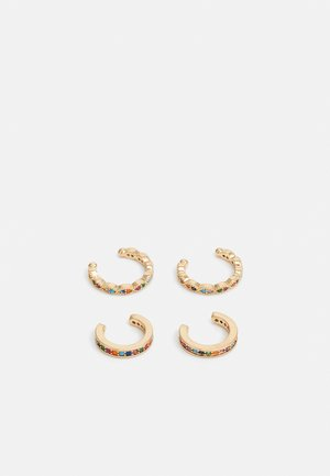 EARCUFF 4PACK - Kolczyki - gold-coloured