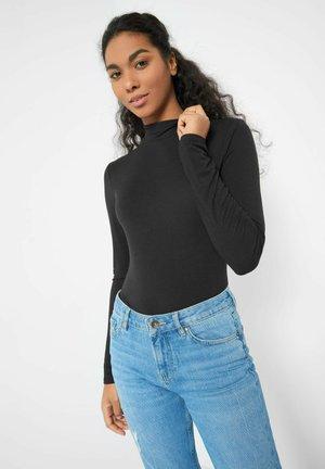 BASIC  - Long sleeved top - schwarz