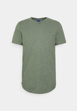 JORNOA STRUCTURE TEE CREW NECK - Print T-shirt - sea spray
