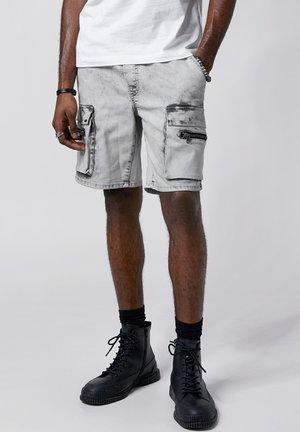 LANNY - Denim shorts - vintage light grey