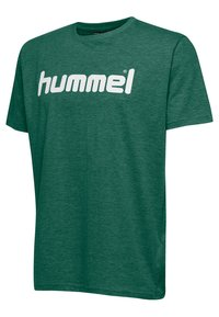 Hummel - HMLGO - T-shirts print - green - 2