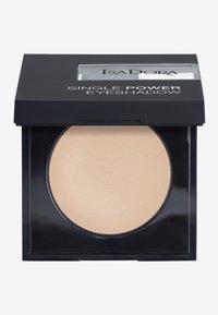 IsaDora - SINGLE POWER EYESHADOW - Eye shadow - bare beige - 0