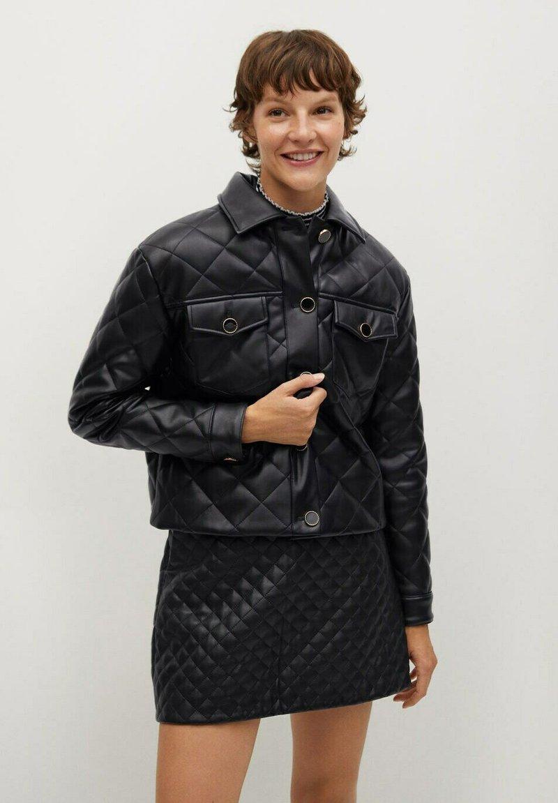 Mango - RECOCO - Winter jacket - noir