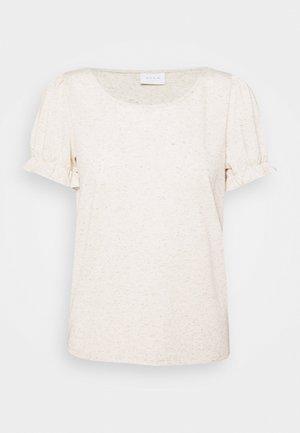 VIANIKA - Print T-shirt - cloud dancer/solid
