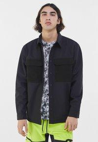 Bershka - Summer jacket - black - 0