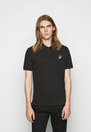 MENS REG FIT MONKEY - Poloshirt - black