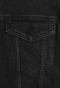 Only & Sons - ONSCOIN HOOD TRUCK  - Denim jacket - black denim - 2