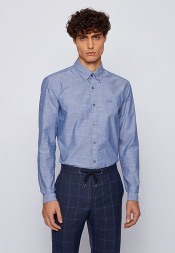 Formal shirt - open blue