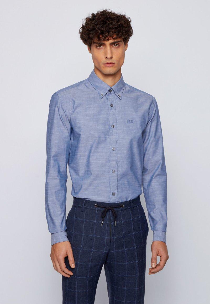 BOSS - Formal shirt - open blue