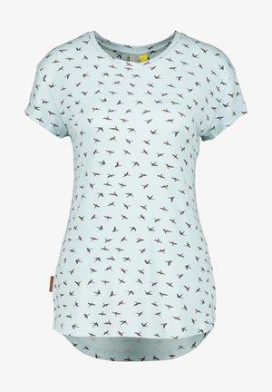 MIMMY B  - Print T-shirt - ice