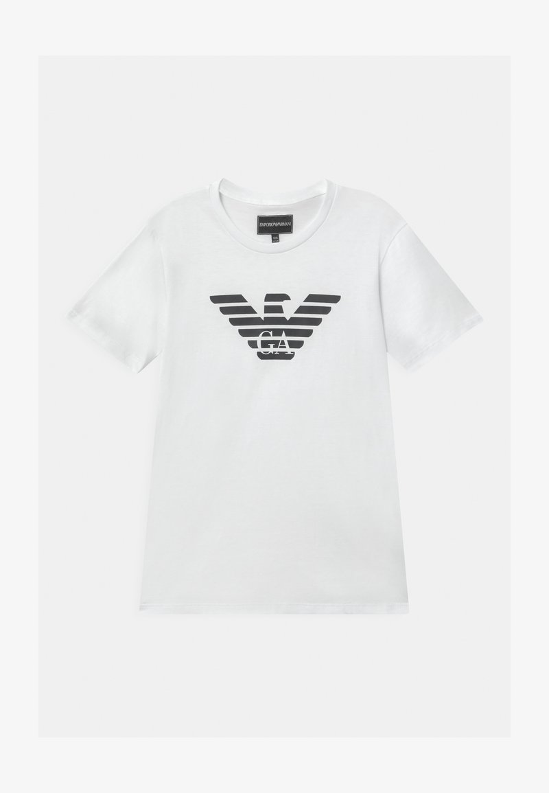 Emporio Armani - Print T-shirt - bianco ottico