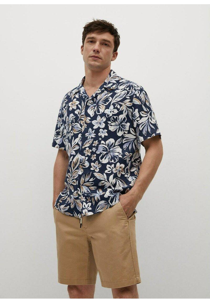 Mango - Shirt - blau