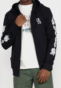 RVCA - BENJAMIN - Zip-up sweatshirt - black - 0