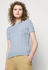 Polo Ralph Lauren - Basic T-shirt - pale blue - 4