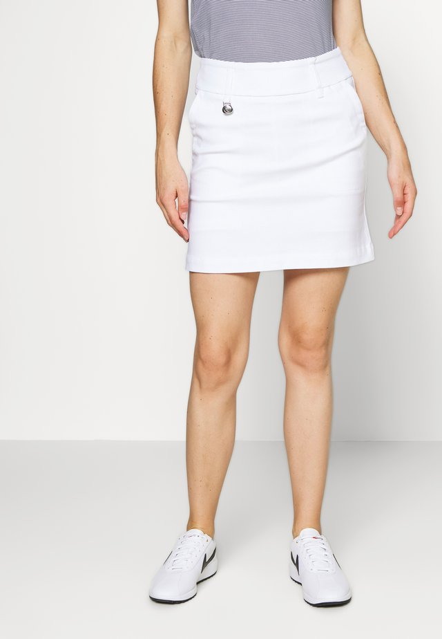 MAGIC SKORT - Rokken - white
