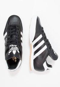 adidas Originals - SAMBA SUPER - Trainers - black/running white/footwear white - 1