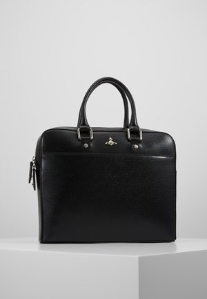 KENT SLIM DOUCMENT CASE - Briefcase - black
