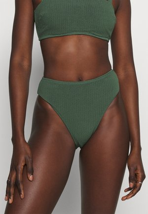 SEA DIVE HIGH RISE - Bikini bottoms - ivy