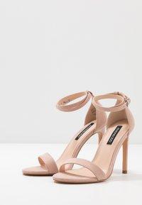Even&Odd - High Heel Sandalette - nude - 4