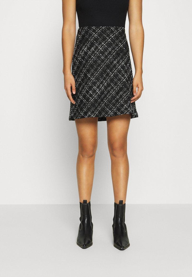 b.young - BYERICA SKIRT - Mini skirt - black