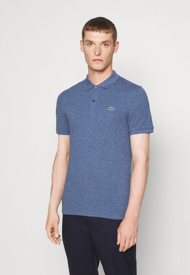 Polo - mottled blue