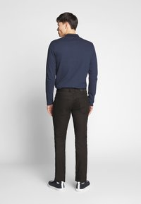 TOM TAILOR - JOSH - Slim fit jeans - black denim - 2