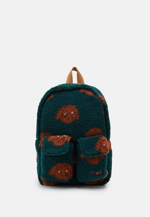 TINY DOG SMALL BACKPACK - Batoh - dark green/sienna
