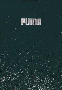 Puma - PUMA X ZALANDO METALLIC SPLASH GIRLS CREW - Sweater - ponderosa pine - 3