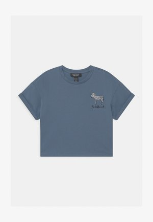ZEBRA LOGO - Print T-shirt - light blue