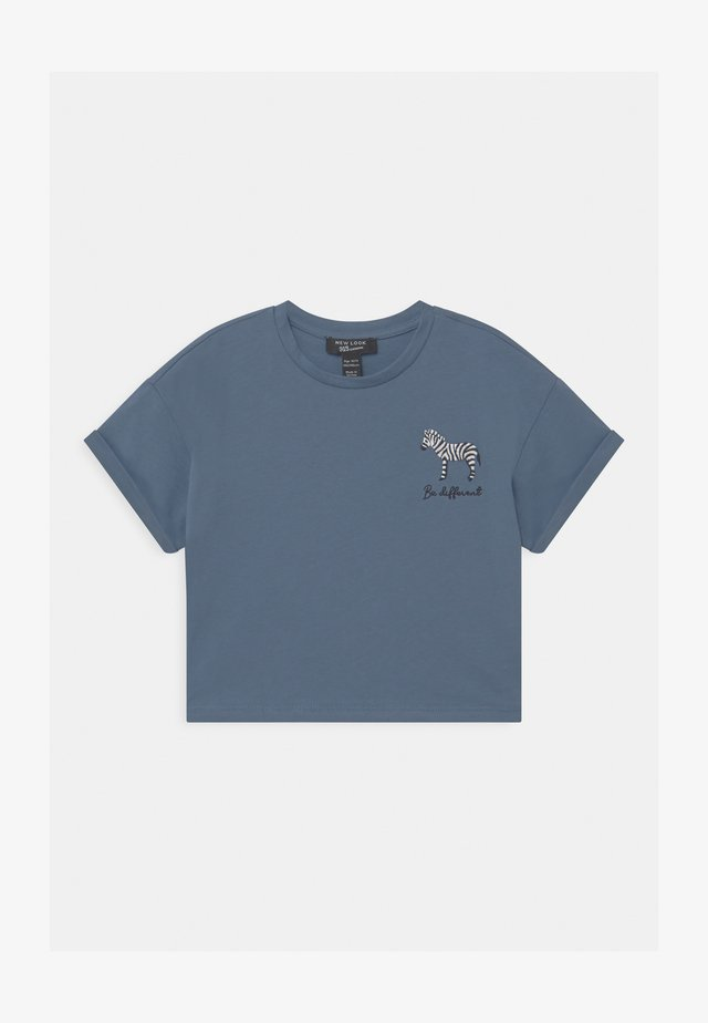 ZEBRA LOGO - T-Shirt print - light blue
