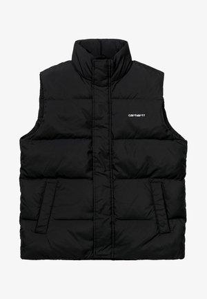 Waistcoat - black / white