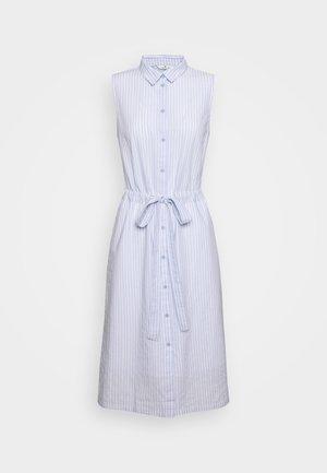 DRESS STYLE WITH STRIPES - Shirt dress - blue