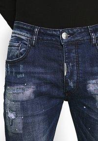 Alessandro Zavetti - MIRANO CARROT FIT - Slim fit jeans - blue - 6