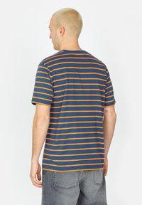 Brixton - Print T-shirt - joe blue - 2