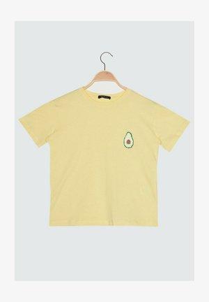 PARENT - T-shirt imprimé - yellow