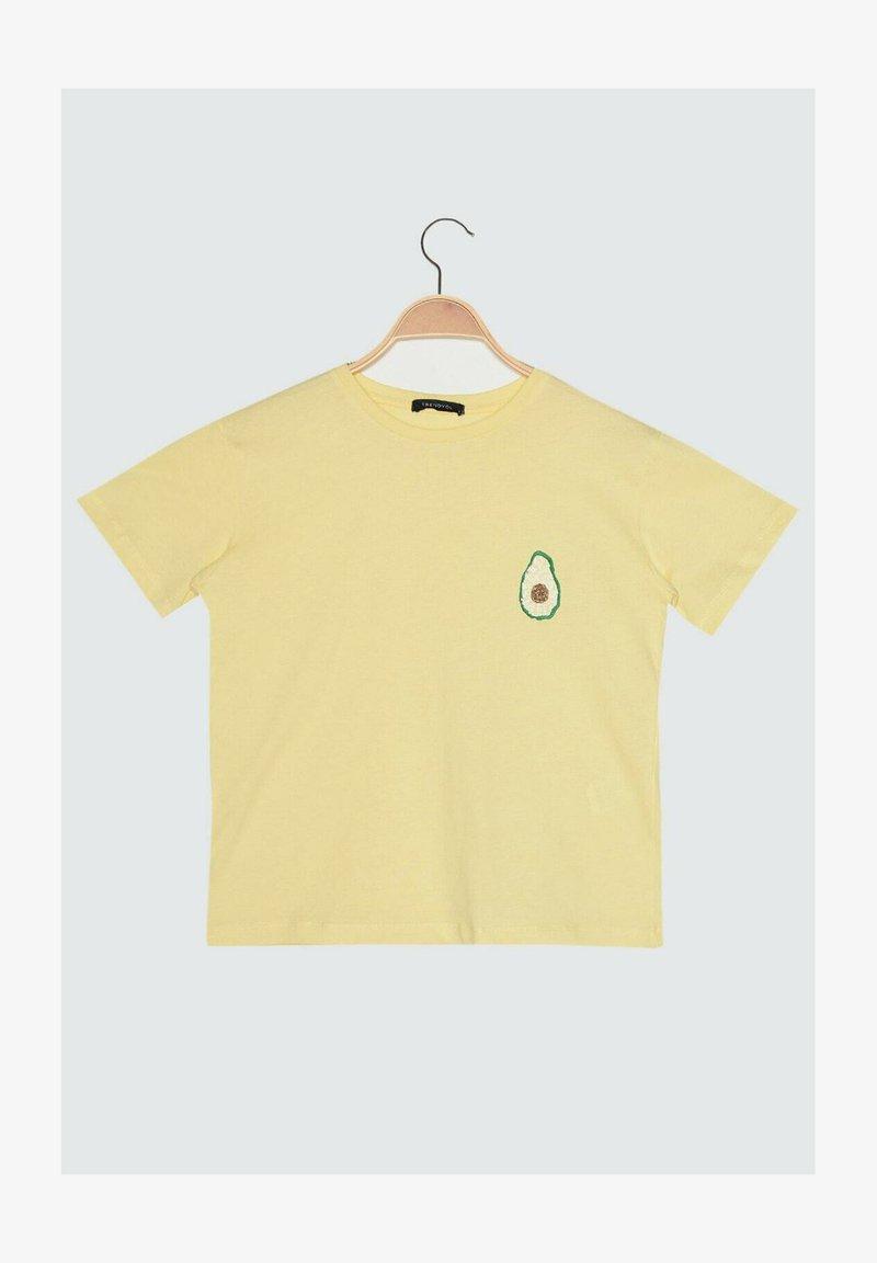 Trendyol - PARENT - Print T-shirt - yellow