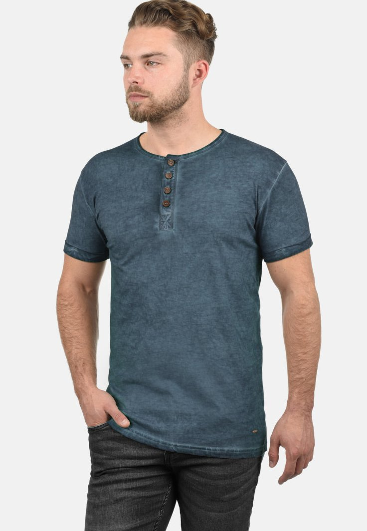 Homme RUNDHALSSHIRT TIHN - T-shirt basique