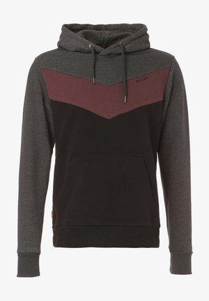 Sweatshirt - black mel. / black